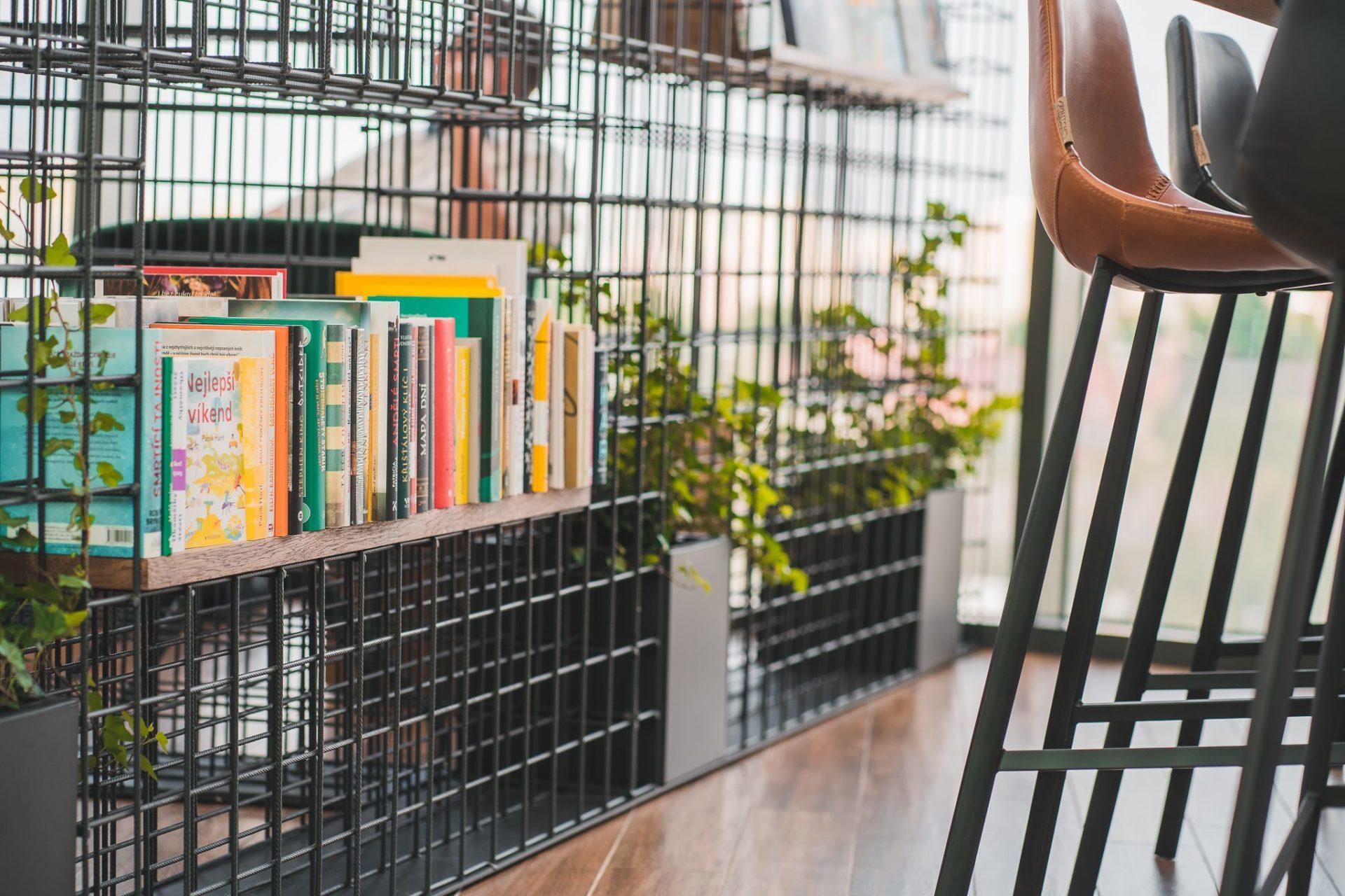 Page Café, Bar design interiéru